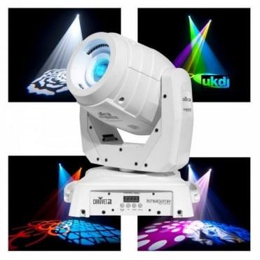 Intimidator Spot LED 350 75W Motorized White Moving Head Gobo Light FX