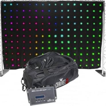 Motiondrape Backdrop LED Light Screen Tri Colour LED 30 Chase Patterns