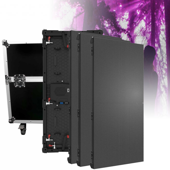 Chauvet Dj Vivid 4 Led 1 X 2m Modular Panel Video Wall