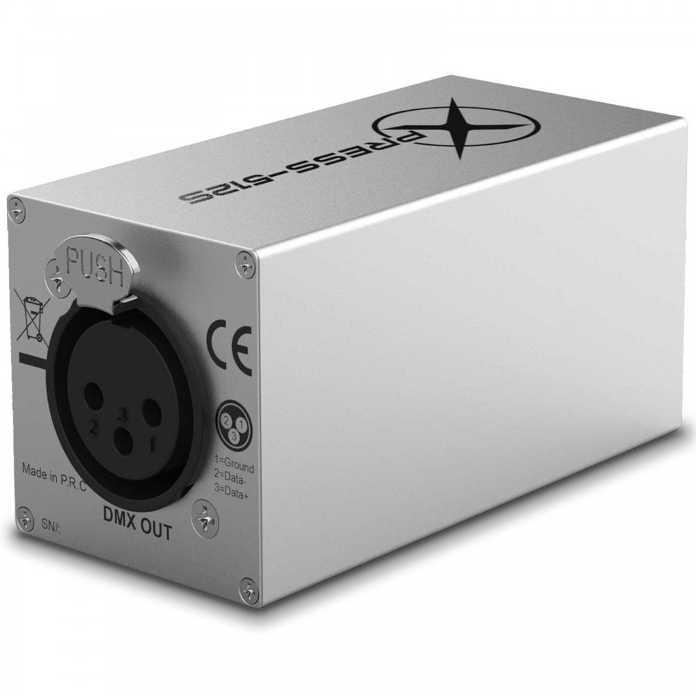Xpress-152S DMX Interface For Stage DJ Lighting Contol