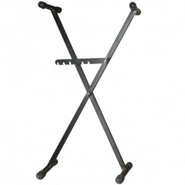 Adjustable Height Keyboard Stand Foldup with Anti-Slip Coating