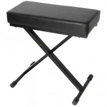 Anti Slip Multi-Height Adjustable Padded Keyboard Stool Bench