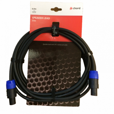 Elite 2 Core High Power Speakon Speaker Leads 2.5mm² pure copper