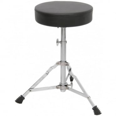 Height Adjustable Padded Drum Throne Seat Stool