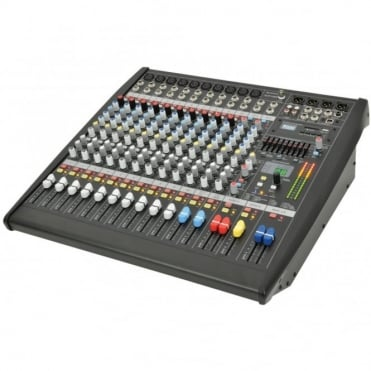 CLP1200 Studio Grade 12-Channel Powered Mixer Amplifier 2 x 600W