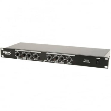 CX23 Professional Active Crossover 2 Stereo 3 Way Mono