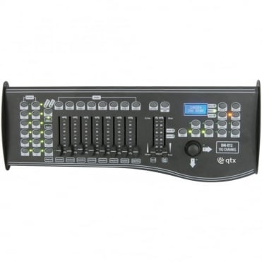 DM-X12 192 Channel DMX Controller with Joystick and Midi Connection