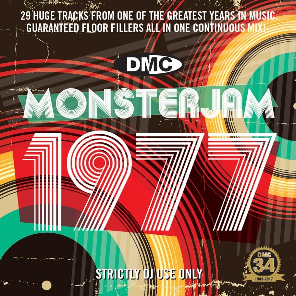 1977 Monsterjam Continuous Megamix Mixed DJ Party Mix CD 70s Music