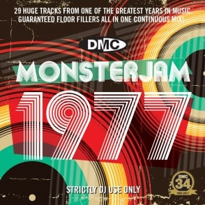 DMC 1977 Monsterjam Continuous Megamix Mixed DJ Party Mix CD 70s Music