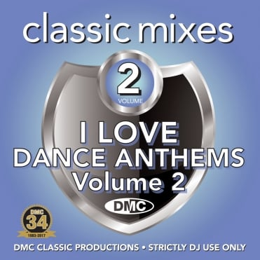 Classic Mixes - I Love Dance Anthems Vol 2 Megamixes & Remixes DJ CD