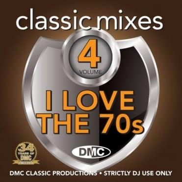 Classic Mixes - I LOVE THE 70s Vol 4 Mixed Music CD
