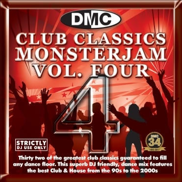Club Classics Monsterjam Vol 4 Dance Party DJ CD Mixed By Kevin Sweeny
