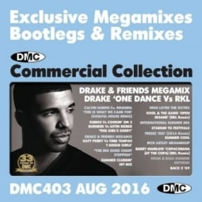 Commercial Collection 403 Club Hits & Mixes DJ Music Double CD