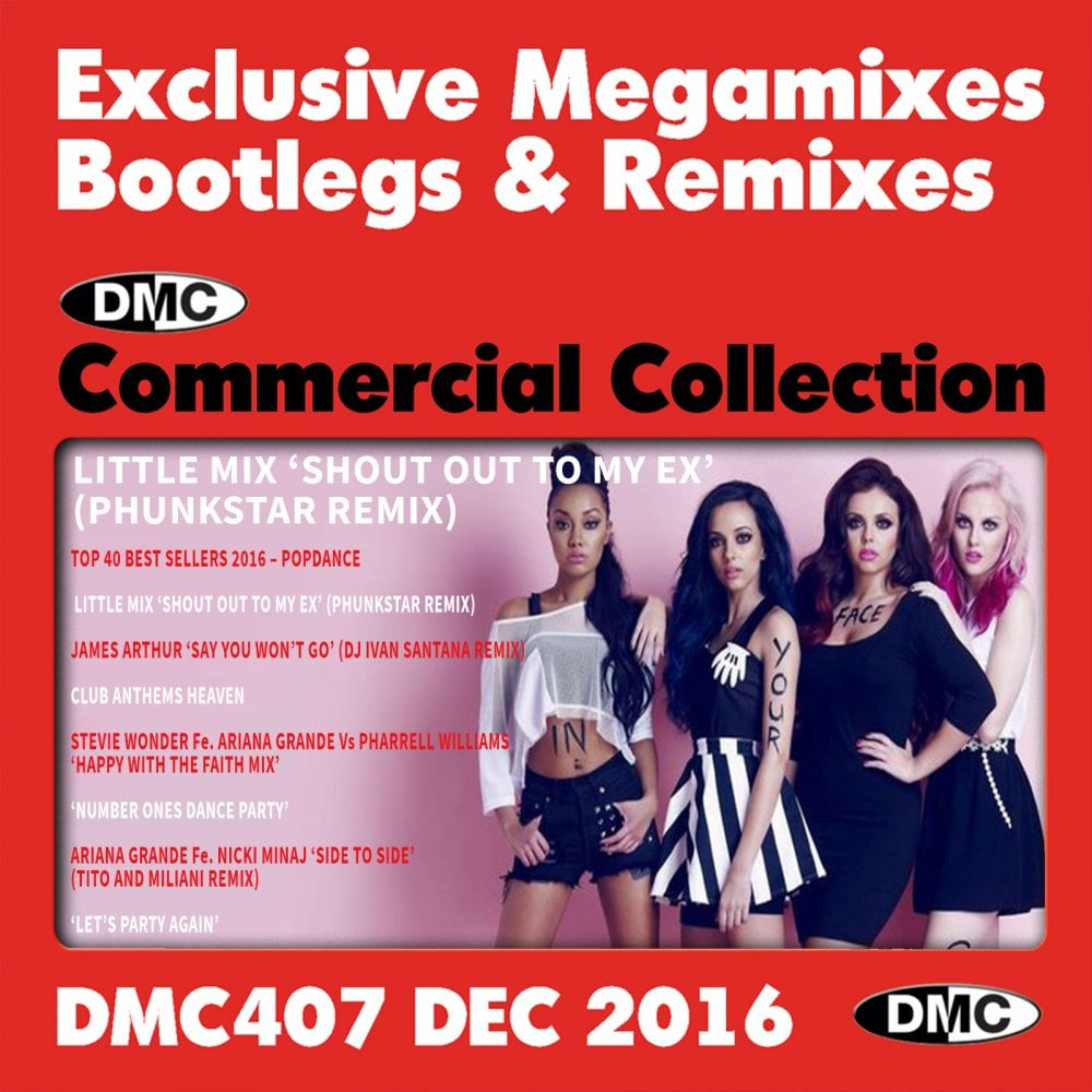 Commercial Collection 407 Club Hits & Mixes DJ Music Triple CD