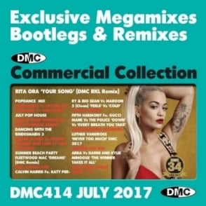 Commercial Collection 414 Club Hits & Mixes DJ Music Double CD