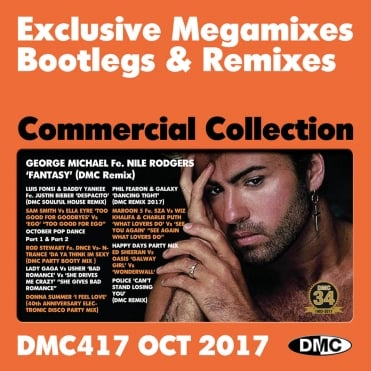 Commercial Collection 417 Club Hits Mixes & Two Trackers DJ Triple Music CD