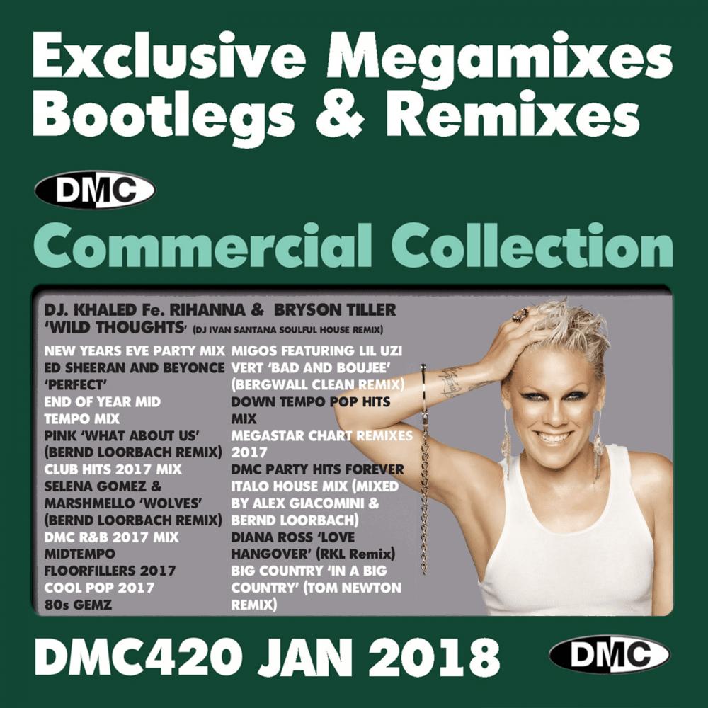 Commercial Collection 420 Club Hits Bootleg Remixes & Megamixes DJ Double  Music CD