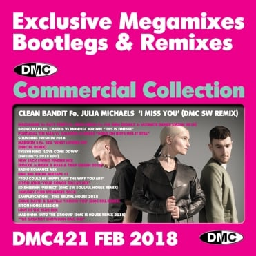 Commercial Collection 421 Club Hits Bootleg Remixes & Megamixes DJ Double Music CD