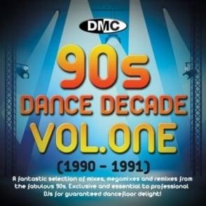 Dance Decade Vol.1 1990 - 1991 Hits of the Nineties Mixes DJ CD