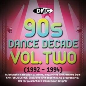 Dance Decade Vol.1 1992 - 1994 Hits of the Nineties Mixes DJ CD