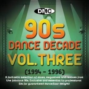 Dance Decade Vol.1 1994 - 1996 Hits of the Nineties Mixes DJ CD