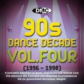 Dance Decade Vol.1 1996 - 1998 Hits of the Nineties Mixes DJ CD