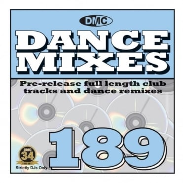 Dance Mixes Issue 189 Chart Music DJ CD Remixed Chart Tracks