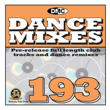 Dance Mixes Issue 193 Chart Music DJ CD Remixed Chart Tracks