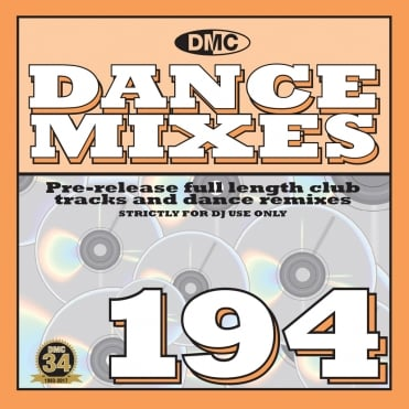 Dance Mixes Issue 194 Chart Music DJ CD Remixed Chart Tracks