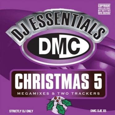 DJ Essentials Christmas 5 Megamixes & 2 Trackers Mixes Remixes CD