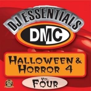 DJ Essentials Halloween & Horror Vol 4 Spooky Scary Party DJ Designed Disc