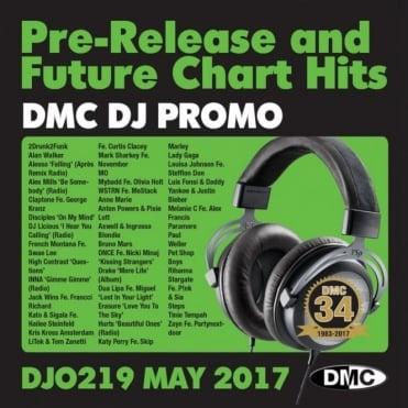 DJ Only 219 Massive Club Tracks Chart Dance Music CD