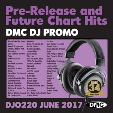 DJ Only 220 Massive Club Tracks Chart Dance Music CD