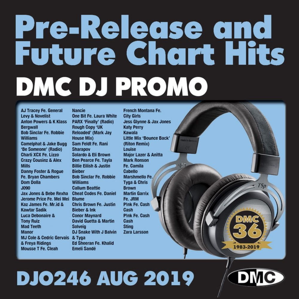 DJ Only 246 Promo Double Chart Music CDs