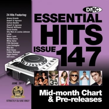 DMC Essential Hits 147 Chart Music DJ CD