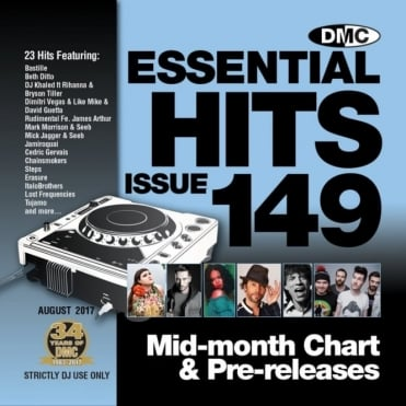 DMC Essential Hits 149 Chart Music DJ CD