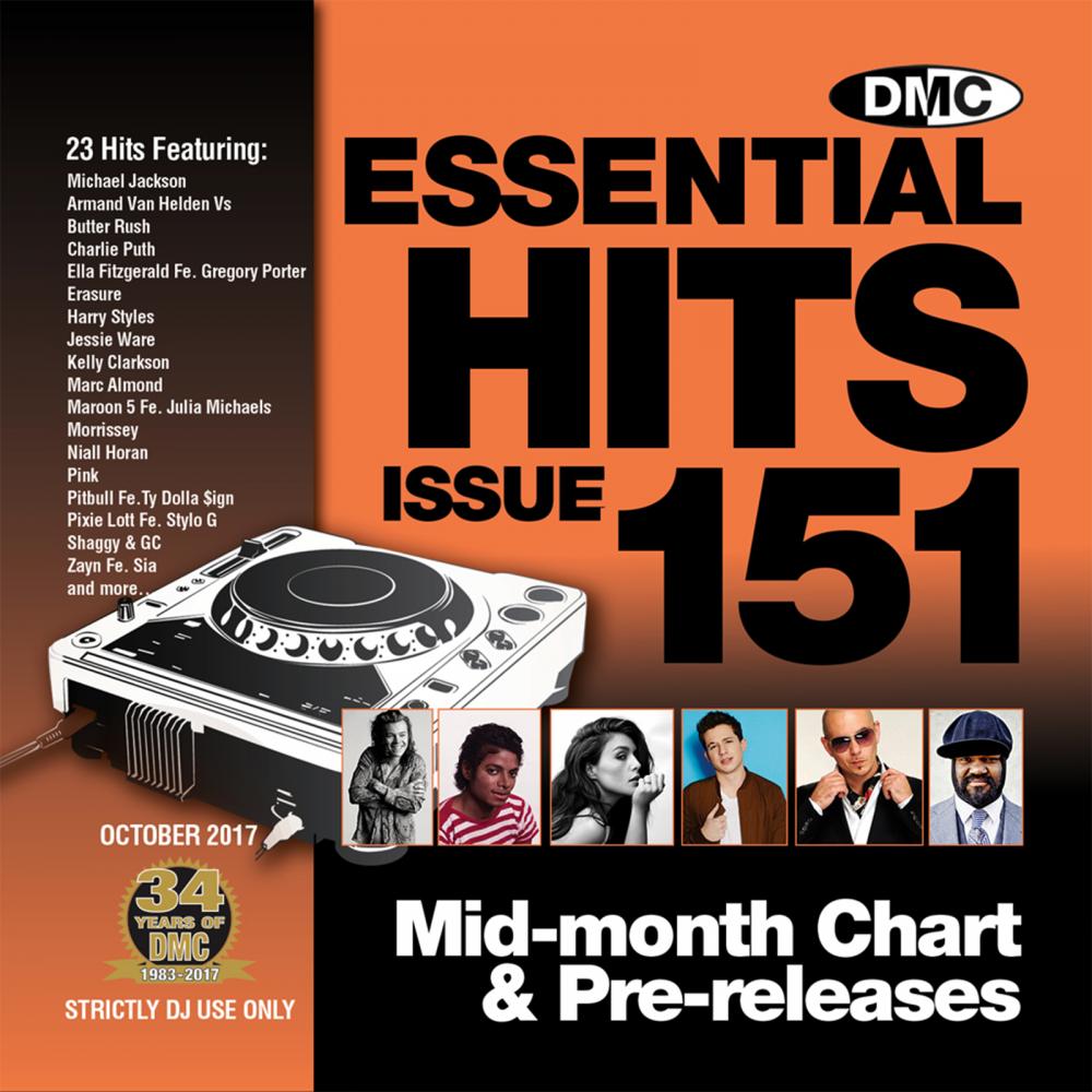 Essential Hits 151 Chart Music DJ CD - Latest Releases of Radio Edit Tracks