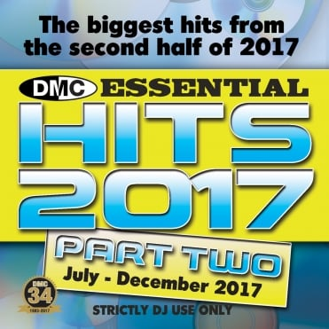 Essential Hits 2017 Part 2 July - December Chart Music DJ CD