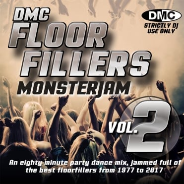 Floorfillers Monsterjam Vol 2 1977-2017 Continuous Megamix DJ Party CD