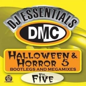 Halloween & Horror Vol 5 Megamixes & 2 Trackers Mixes Remixes DJ CD