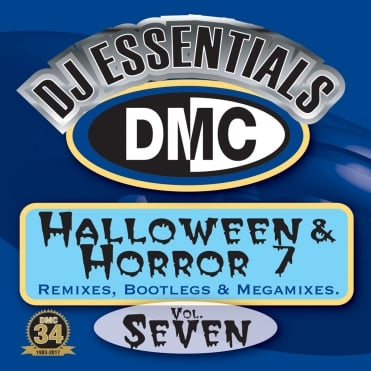 Halloween & Horror Vol 7 Megamixes & 2 Trackers Mixes Remixes DJ CD