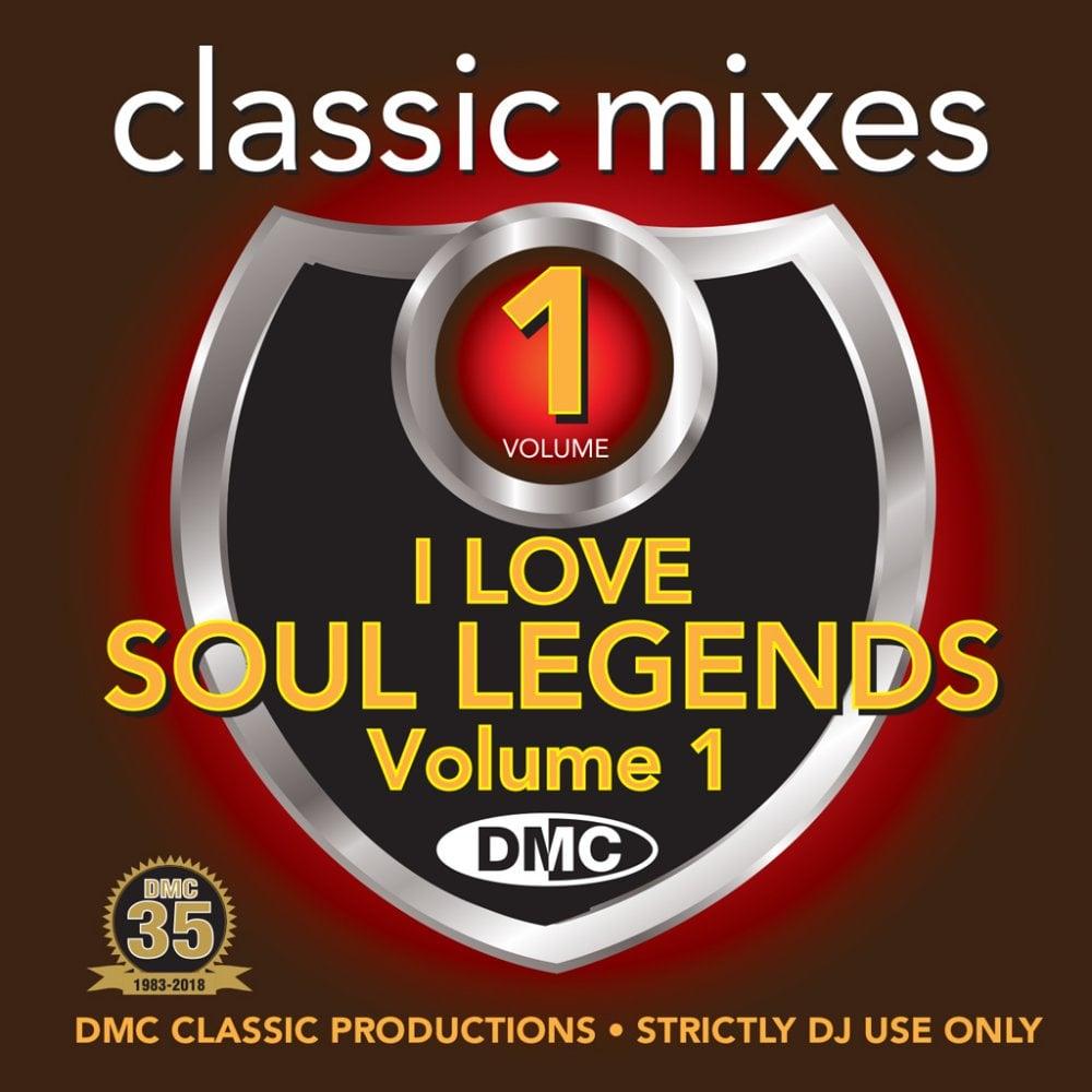 I Love Soul Legends Megamixes & Remixes DJ CD Mixes