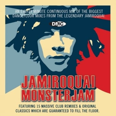 Jamiroquai Monsterjam Continuous Megamix Mixed DJ Party Mix CD