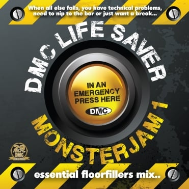 Life Saver Monsterjam Vol 1 Continuous Mixed DJ CD By Guy Garrett