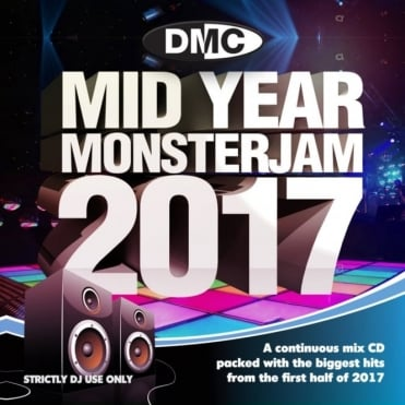 Mid Year Monsterjam 2017 Continuous Megamix DJ CD