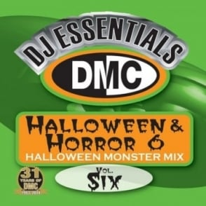Monsterjam Halloween & Horror Vol 6 Party DJ CD Mixed By Showstoppers