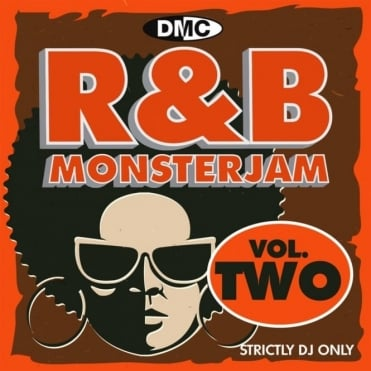 R&B Monsterjam Vol 2 Grandmaster Style Continuous Megamix Mixed DJ CD R'n'B