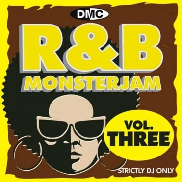 R&B Monsterjam Vol 3 Grandmaster Style Continuous Megamix Mixed DJ CD R'n'B