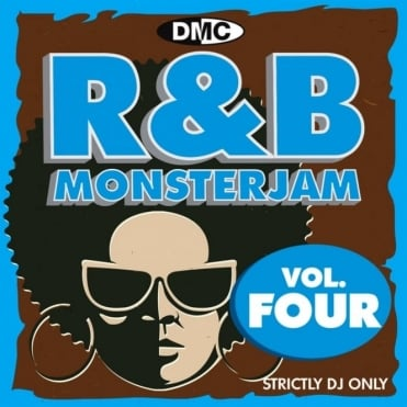 R&B Monsterjam Vol 4 Grandmaster Style Continuous Megamix Mixed DJ CD R'n'B