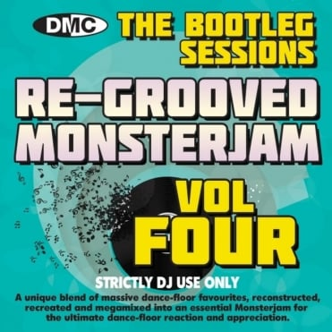 Re-Grooved Monsterjam 4 The Bootleg Sessions Mix Mash Megamix DJ CD